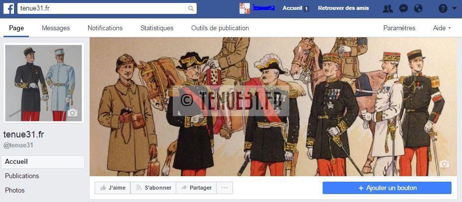 grande tenue officier uniforme sortie parade modèle 31 1931 képi armée ceinturon bottines lieutenant capitaine commandant chef bataillon colonel général français tenue31.fr facebook
