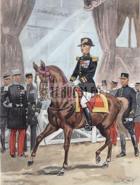 Uniforme grande tenue officier français modèle 31 1931 tenue31.fr cavalerie d'école