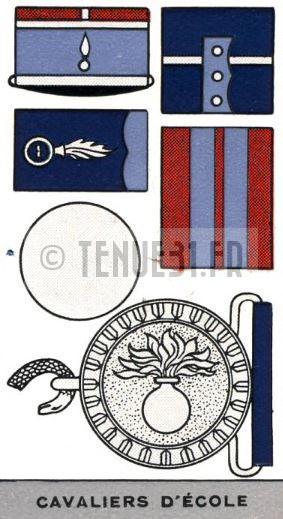 Uniforme grande tenue officier français modèle 31 1931 tenue31.fr cavalerie cavaliers d'école