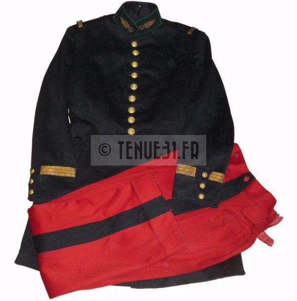 Uniforme grande tenue officier français modèle 31 1931 Légion étrangère 1er REI