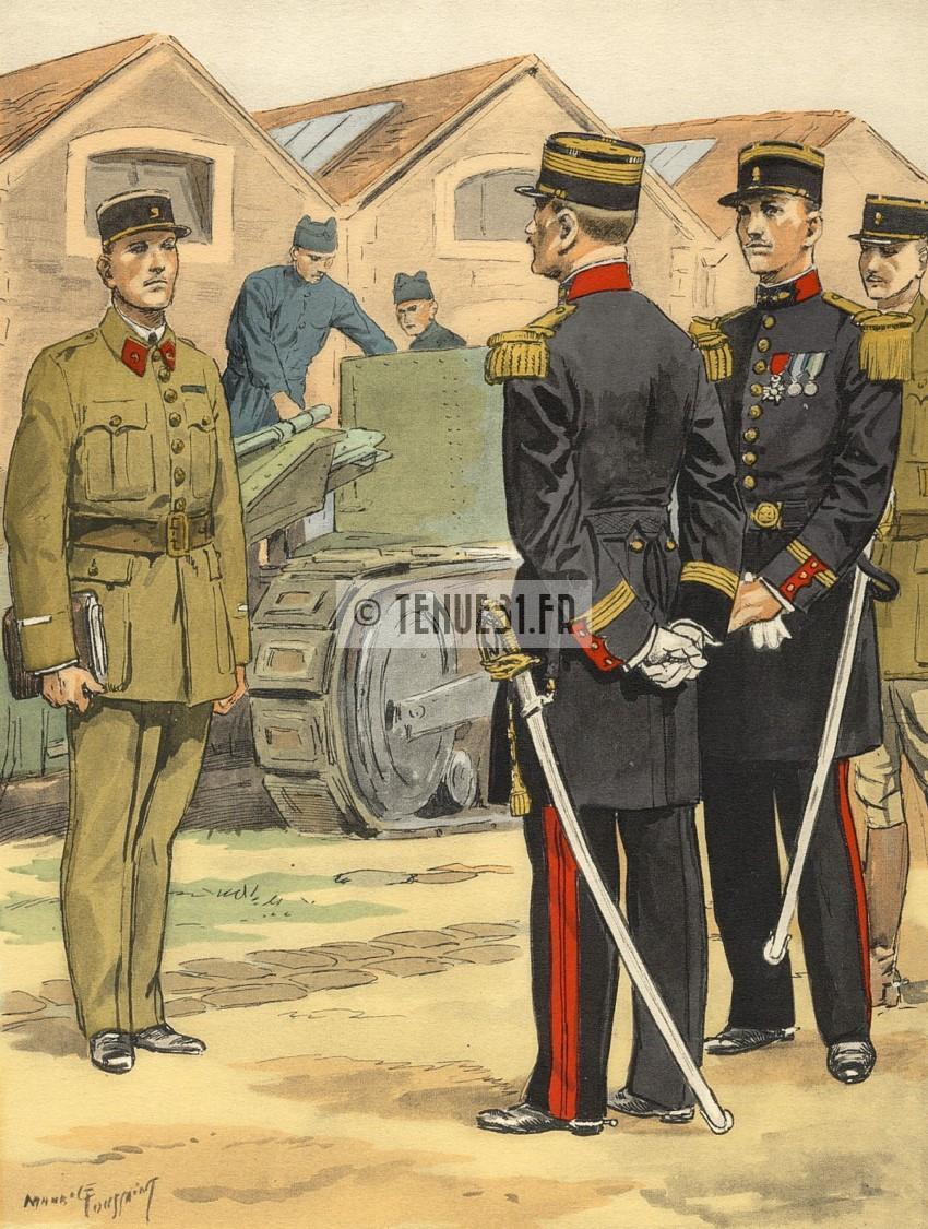 Uniformes artillerie