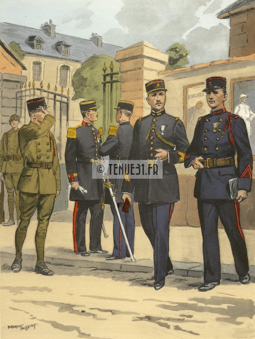 Uniforme grande tenue officier français modèle 31 1931 tenue31.fr infanterie artillerie coloniale