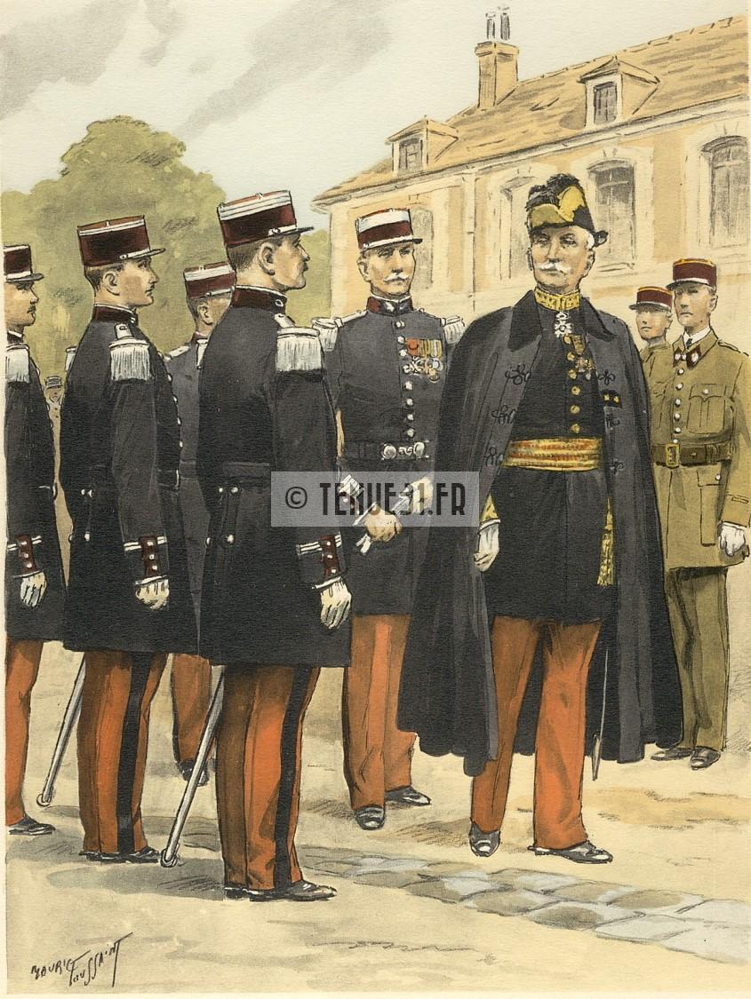 grande tenue officier uniforme sortie parade modèle 31 1931 képi armée service de santé armées SSA médecin pharmacien militaire tenue 31 lieutenant capitaine commandant chef bataillon colonel général vétérinaire