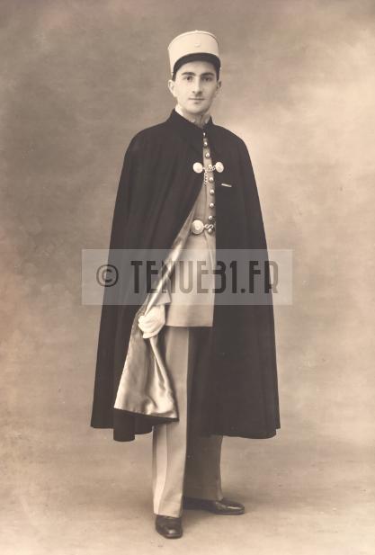 Saint-Cyrien Sous-Lieutenant Tirailleur cape