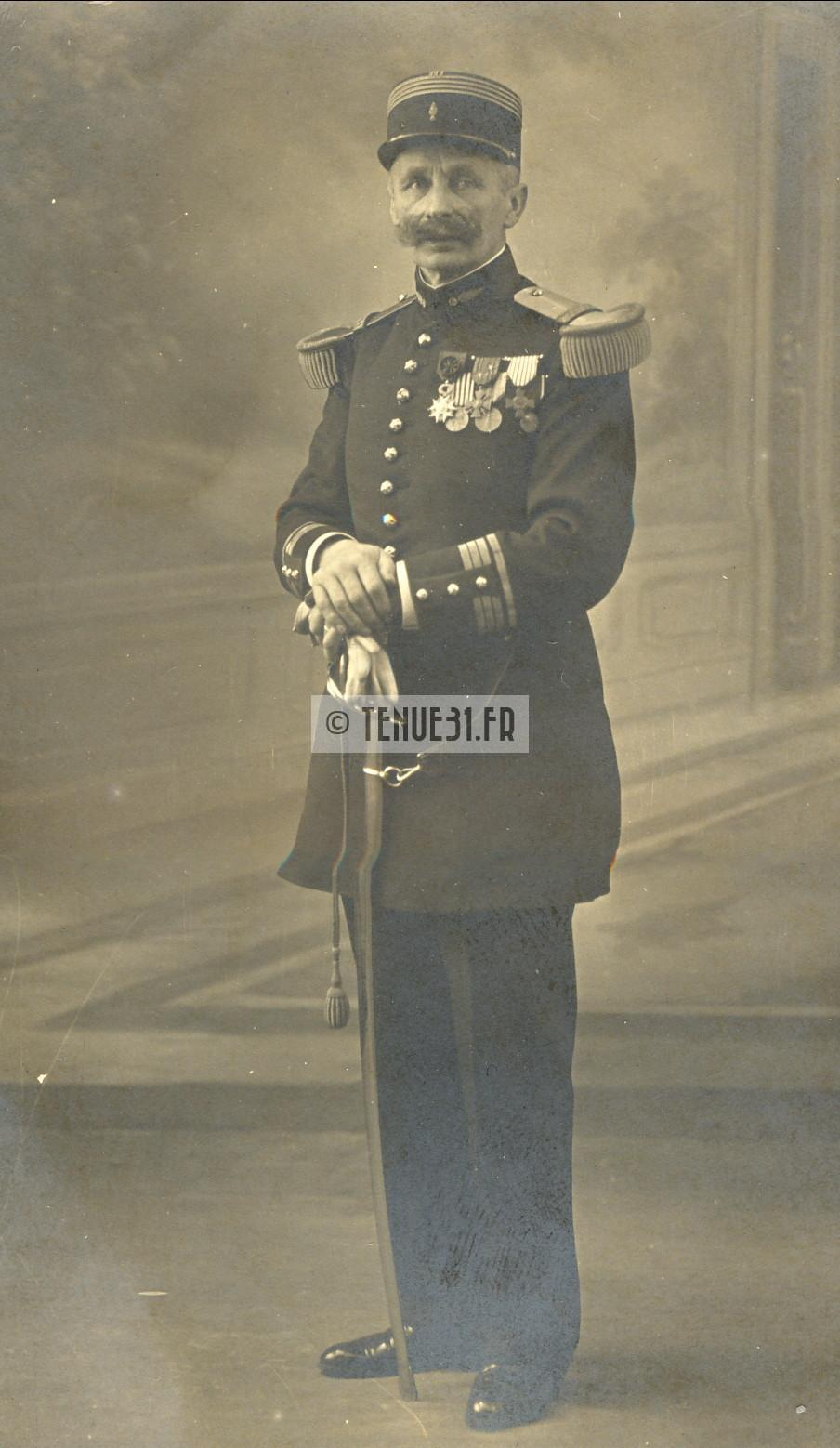 Chef de Bataillon d'artillerie
