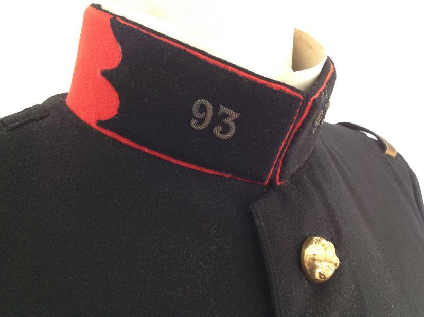 Uniforme grande tenue officier français modèle 31 1931 tenue31.fr artillerie