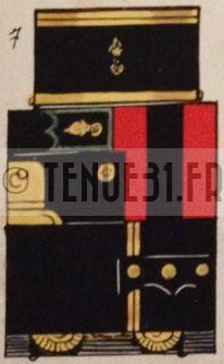 Uniforme officier modèle 31 Légion étrangère tailleur