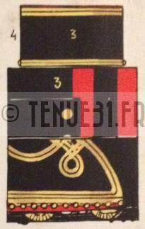 Uniforme officier Zouaves