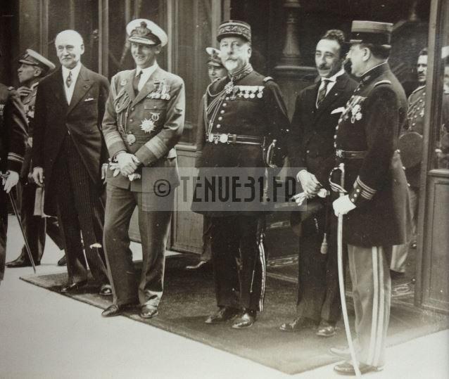 Uniforme grande tenue officier français modèle 31 1931 tenue31.fr généraux et maréchaux