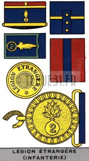 Description uniforme officier français modèle 31 Légion étrangère. REI