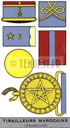 Descriptif uniforme tirailleurs marocains