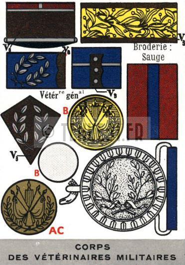 Uniforme grande tenue officier français modèle 31 1931 tenue31.fr Service de santé