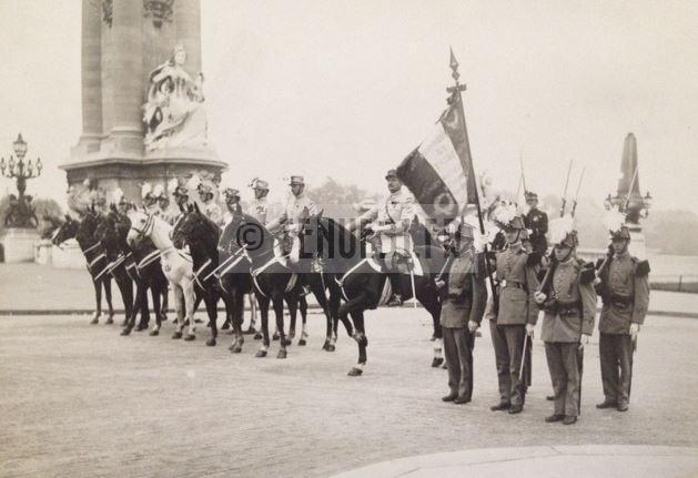Uniforme grande tenue officier français modèle 31 1931 tenue31.fr Ecole Spéciale Militaire Saint-Cyr.