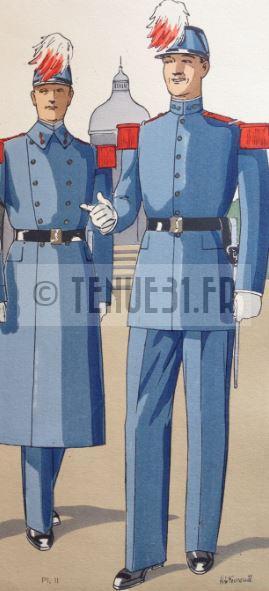 Gravure tailleur uniforme Cyrien