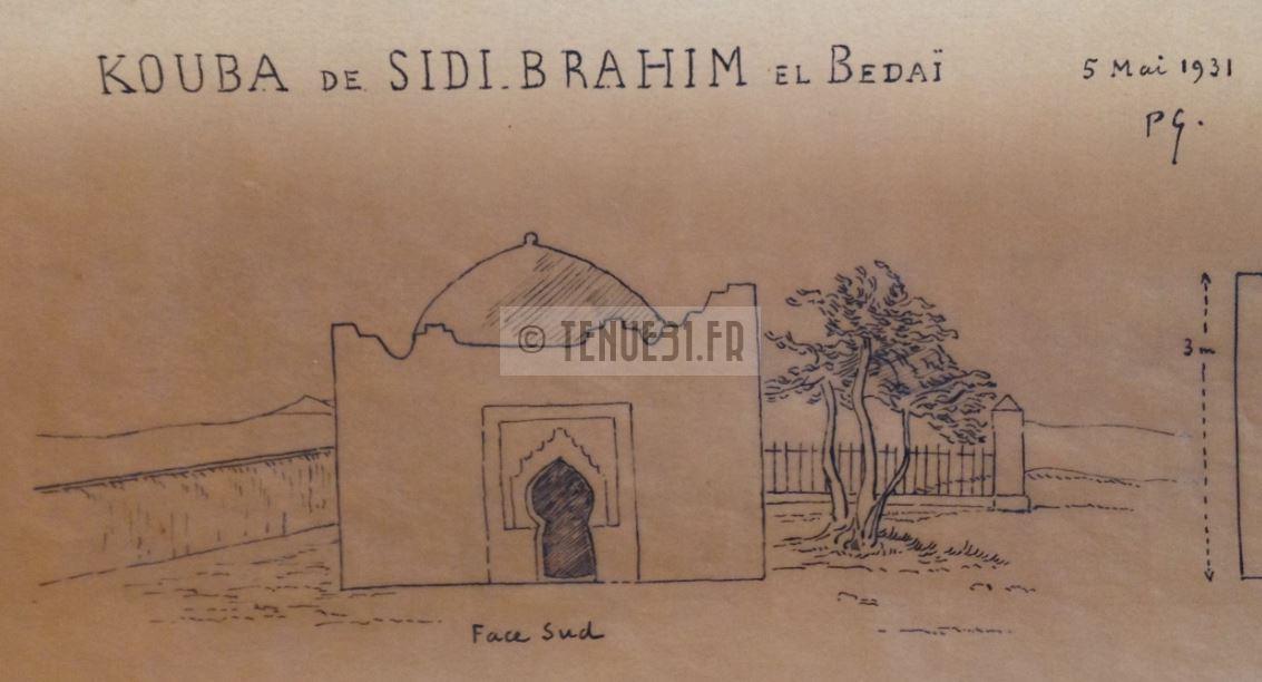 Sidi-Brahim Sidi Brahim Marabout Kouba Montagnac 8ème BCP Bataillon Chasseurs à Pied