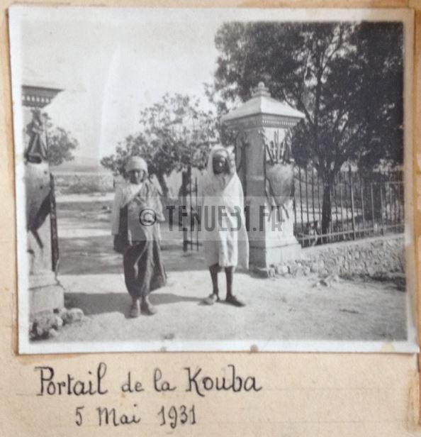 Sidi-Brahim Sidi Brahim Marabout Kouba Montagnac 8ème BCP Bataillon Chasseurs à Pied portail