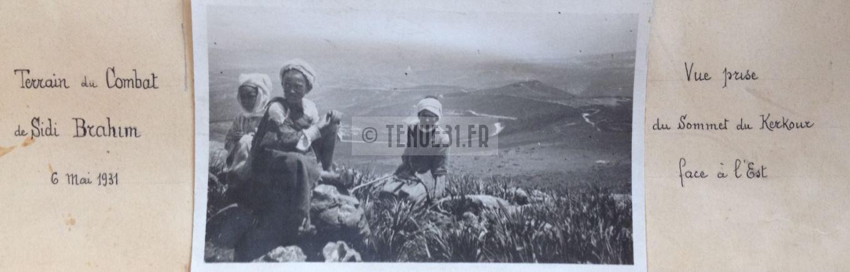 Sidi-Brahim Sidi Brahim Marabout Kouba Montagnac 8ème BCP Bataillon Chasseurs à Pied terrain combats