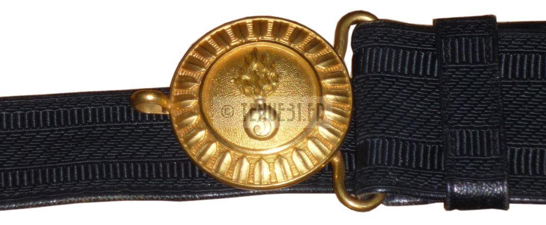 Uniforme ceinturon officier Légion étrangère 3e REI