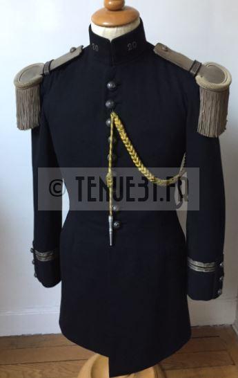Uniforme grande tenue officier français modèle 31 1931 tenue31.fr chasseurs à pied alpins