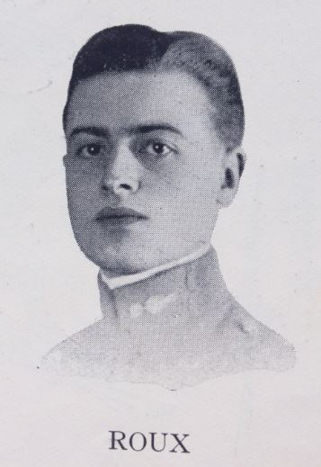Photo Lieutenant Roux Saint-Cyr