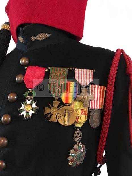 médailles capitaine zouaves