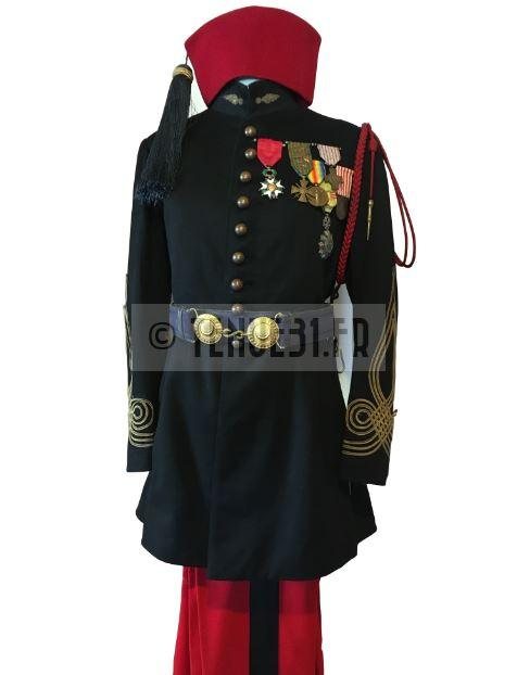 Ensemble capitaine zouaves