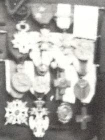 Décorations d'un Lieutenant Colonel du 5e RDP