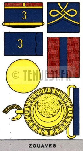 Descriptif uniforme zouaves
