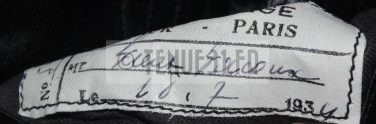 Étiquette interprète militaire