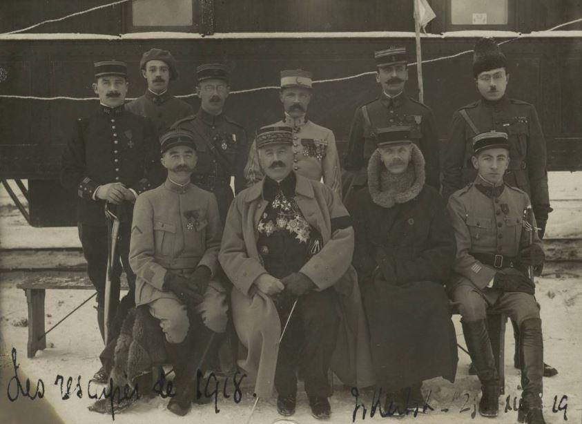 Jules Legras avec le Général Janin
