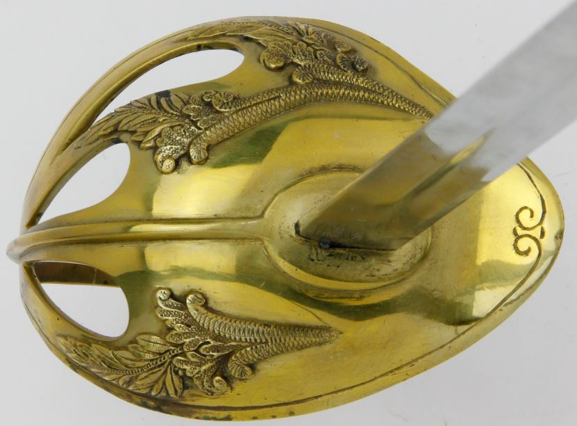 coquille sabre modèle 1923