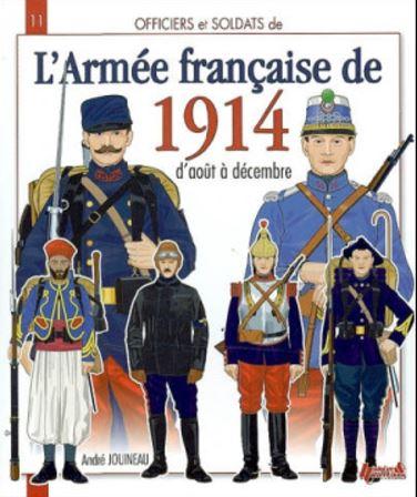 Officiers et soldats de l'armée française de la Grande Guerre