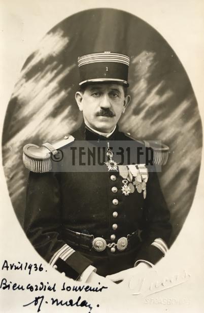 Lieutenant-Colonel 1e Régiment Génie
