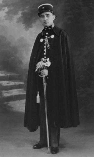 Le Capitaine Martial Bélingard (copyright La Saint-Cyrienne)