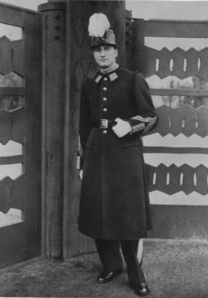 Sous-Lieutenant Pierre Maccioni (copyright La Saint-Cyrienne)