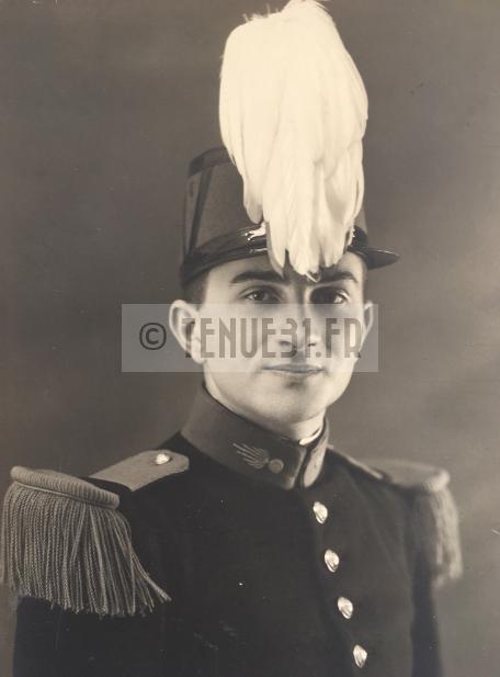Saint-Cyrien Sous-Lieutenant Tirailleur