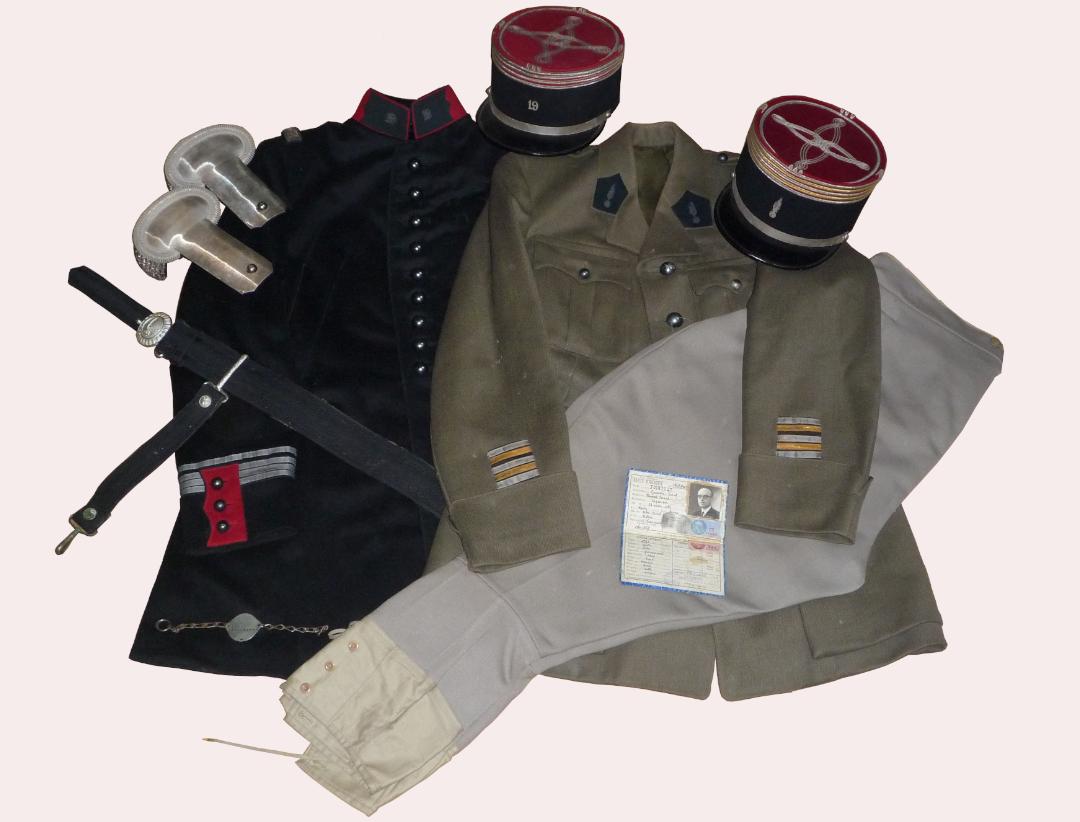 Ensembles grande tenue et tenue de ville du Colonel Pointout