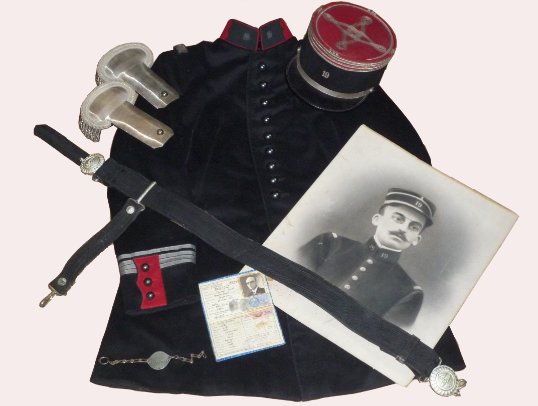 Tenue modèle 1931 du Chef d'Escadron Pointout.