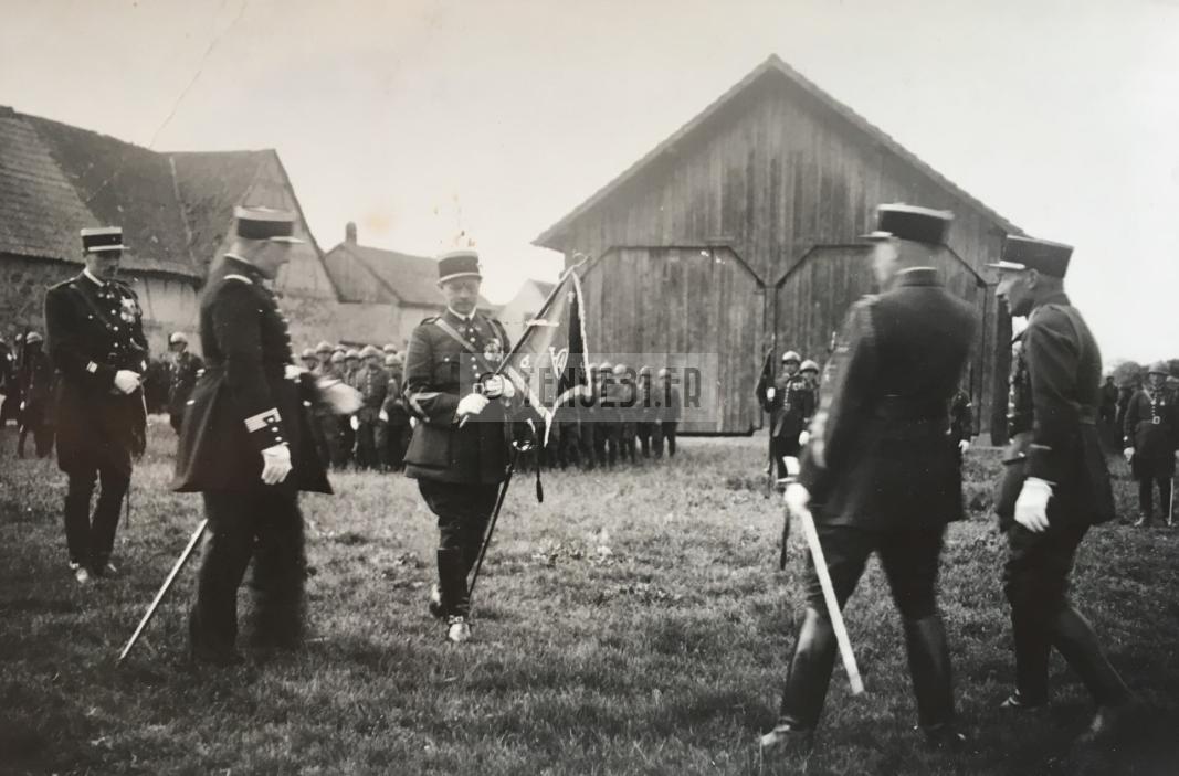 Chef de Bataillon Louis BARIL du 4e BCP en 1935