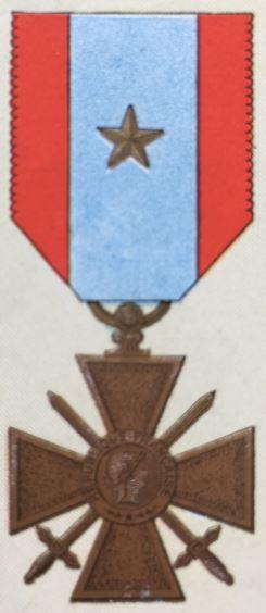 médailles ordres et décorations militaires : Croix des Théâtres d'Opérations Extérieures