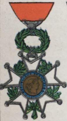 médailles ordres et décorations militaires : Légion d'Honneur