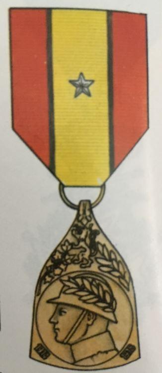 Médaille commémorative de la guerre 1914-1918