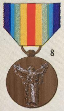 médailles ordres et décorations militaires : Médaille Interalliée