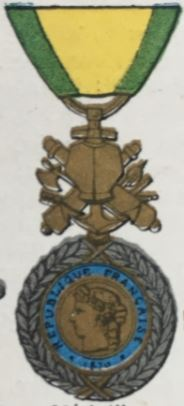 médailles ordres et décorations militaires : Médaille Militaire