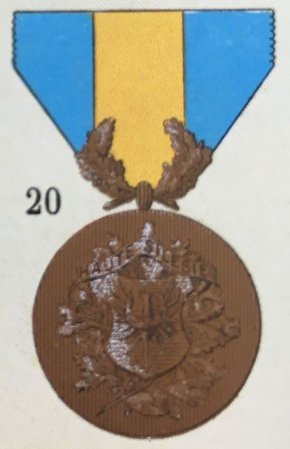 médailles ordres et décorations militaires : Médaille de Silésie