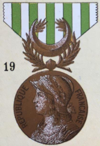 médailles ordres et décorations militaires : Médaille des Dardanelles