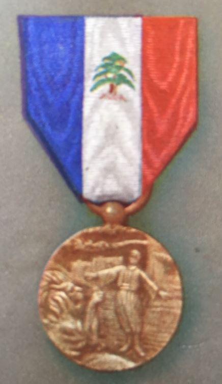médailles ordres et décorations militaires : Mérite Libanais