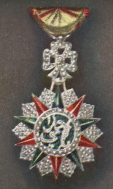 médailles ordres et décorations militaires : Nichan Ifikhar