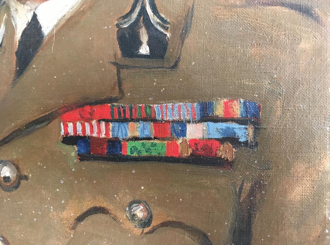 Chef d'Escadrons Sitri détail décorations