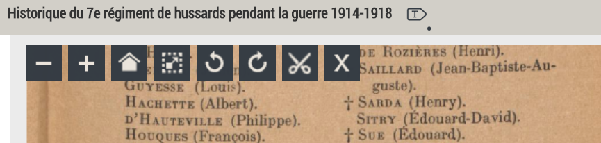 Historique 7e régiment de hussards